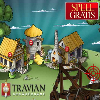 Travian - massively multiplayer online browser-based strategie spel