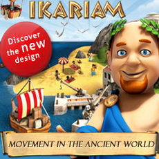 Ikariam - massively multiplayer strategic browser based game